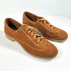 Vintage Retro Bowling Shoes BRUNSWICK Suede Laced